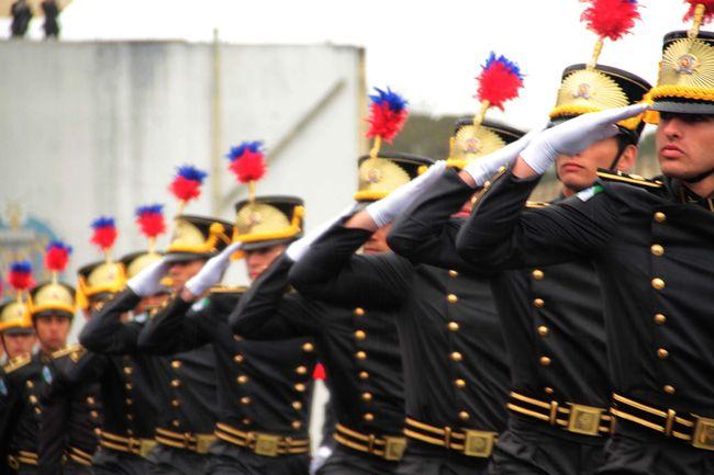 São José dos Pinhais ,11 de outubro de 2012 Academia Militar do Guatupê  entrega de Espadim militar foto: Cabo Manoel Gomes - PMPR